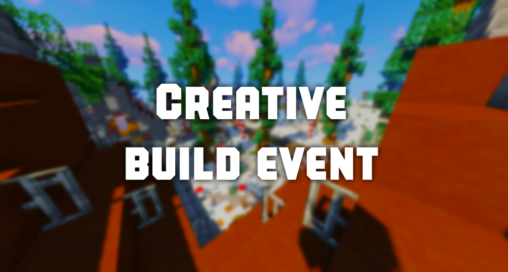 Creative Build Event Results