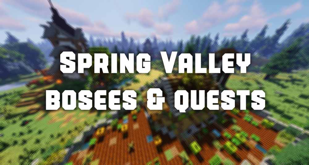 New Adventure Map - Spring Valley